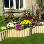 "6"" Log Roll Border Edging"
