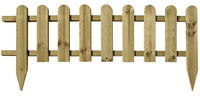 Wooden Picket Fencing